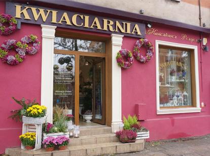 KWIACIARNIA KWIATOWA PASJA Kielce ulica Żeromskiego 8